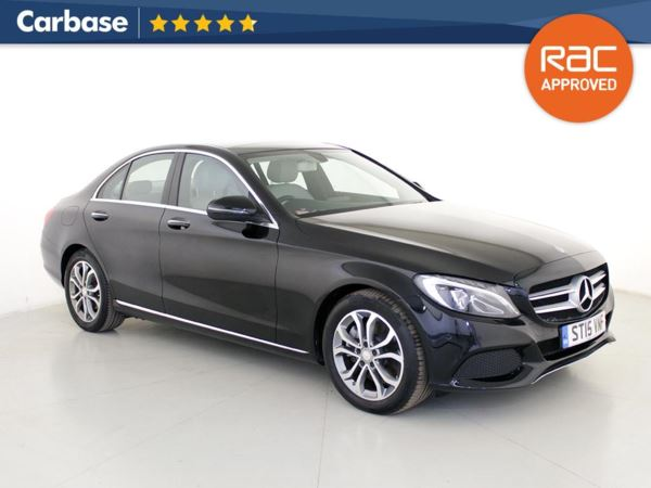 (2015) Mercedes-Benz C Class C300h Sport Premium Plus 4dr Auto Satellite Navigation - Bluetooth Connection - Rain Sensor - Cruise Control - 1 Owner