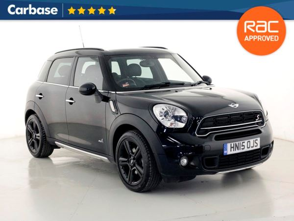 (2015) MINI Countryman 2.0 Cooper S D ALL4 5dr Auto Satellite Navigation - Luxurious Leather - Bluetooth Connection - Parking Sensors