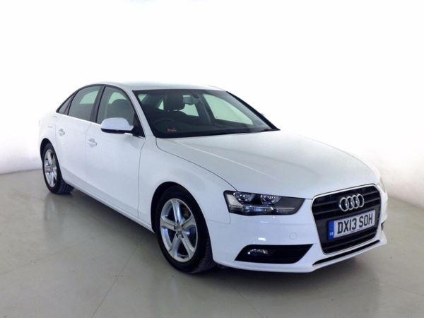 (2013) Audi A4 2.0 TDI 136 SE 4dr [Start Stop] Bluetooth Connection - £30 Tax - Parking Sensors - Aux MP3 Input - Rain Sensor