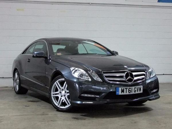 (2011) Mercedes-Benz E Class E220 CDI BEFF Sport Edition 125 2dr Tip Auto [P/R] £1210 Of Extras - Satellite Navigation - Luxurious Leather - Bluetooth Connectivity