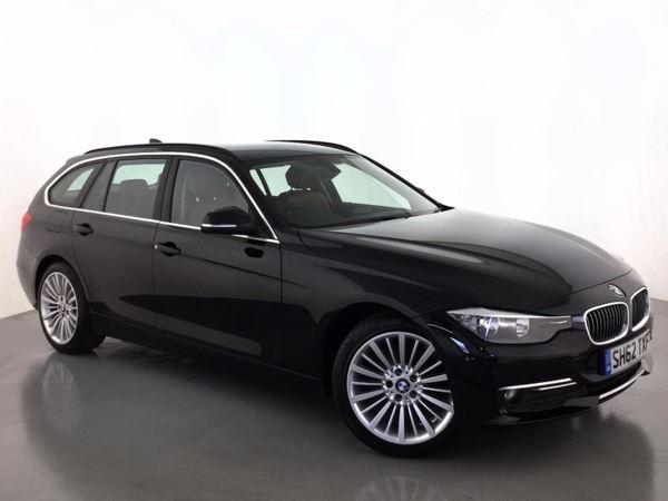(2012) BMW 3 Series 320d Luxury 5dr Luxurious Leather - Bluetooth Connection - Parking Sensors - Aux MP3 Input