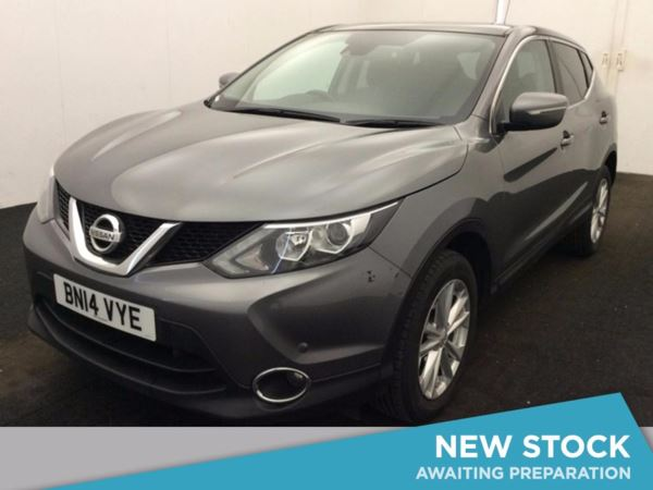(2014) Nissan Qashqai 1.5 dCi Acenta Premium 5dr Panoramic Roof - Satellite Navigation - Bluetooth Connection - Zero Tax