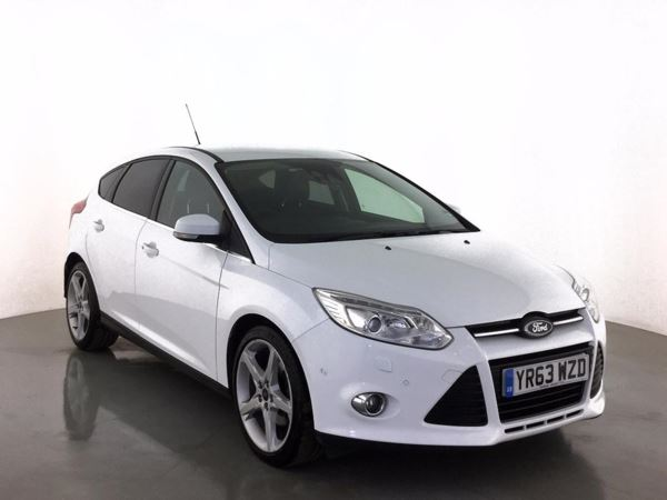 (2014) Ford Focus 1.6 182 EcoBoost Titanium X 5dr £1525 Of Extras - Satellite Navigation - Bluetooth Connection - Parking Sensors