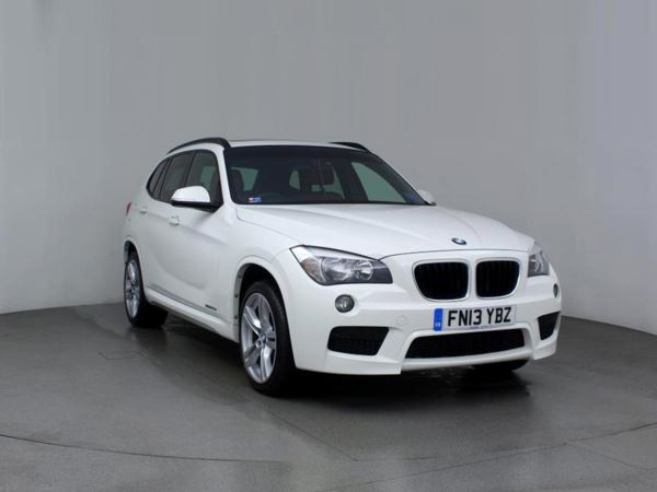 (2013) BMW X1 sDrive 20d M Sport 5dr £1415 Of Extras - Panoramic Roof - Luxurious Leather - Bluetooth Connection