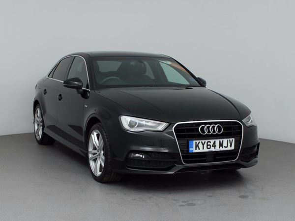 (2014) Audi A3 1.4 TFSI 150 S Line 4dr Saloon £4425 Of Extras - Panoramic Roof - Satellite Navigation - Bluetooth Connectivity