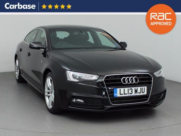 (2013) Audi A5 2.0 TDIe 136 S Line 5dr [5 Seat] Sportback £4240 Of Extras - Satellite Navigation - Bluetooth Connection - £30 Tax