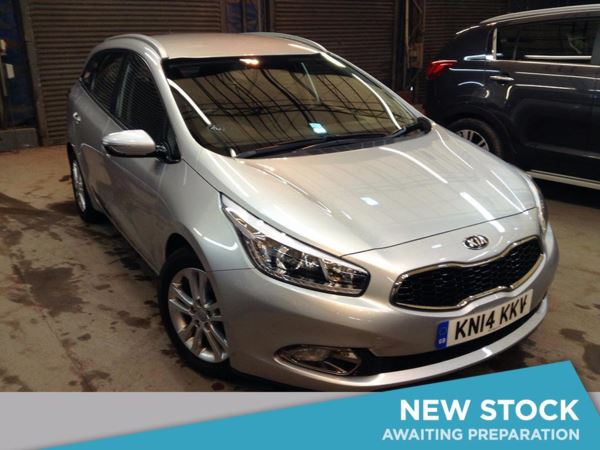 (2014) Kia Ceed 1.6 CRDi 2 5dr Estate Bluetooth Connection - £30 Tax - Parking Sensors - USB Connection