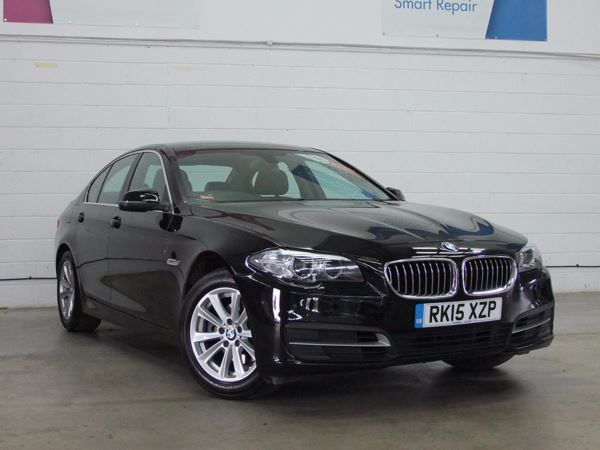 (2015) BMW 5 Series 520d [190] SE 4dr Step Auto £1925 Of Extras - Satellite Navigation - Luxurious Leather - Bluetooth Connectivity