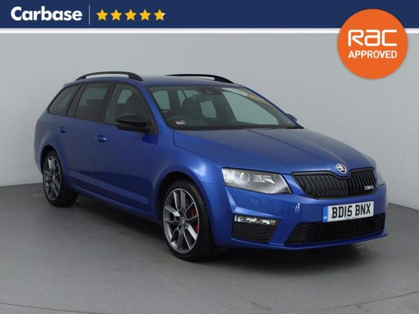 (2015) Skoda Octavia 2.0 TDI CR vRS 5dr Estate £870 Of Extras - Bluetooth Connection - Parking Sensors - DAB Radio