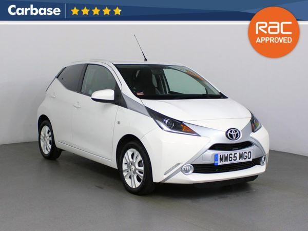 (2015) Toyota AYGO 1.0 VVT-i X-Pure 5dr Bluetooth Connection - Aux MP3 Input - 1 Owner - Air Conditioning
