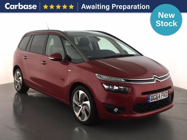 (2014) Citroen C4 Grand Picasso 2.0 BlueHDi Exclusive+ 5dr - MPV 7 Seats £1945 Of Extras - Satellite Navigation - Bluetooth Connection - £30 Tax