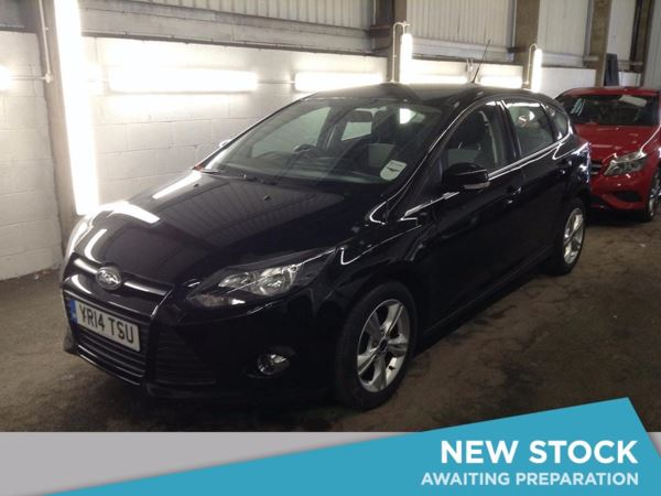 (2014) Ford Focus 1.6 TDCi Zetec ECOnetic 5dr £775 Of Extras - Bluetooth Connection - Zero Tax - DAB Radio - Aux MP3 Input