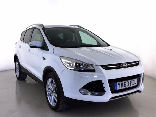 (2014) Ford Kuga 2.0 TDCi 163 Titanium 5dr Powershift £1225 Of Extras - Panoramic Roof - Luxurious Leather - Bluetooth Connection