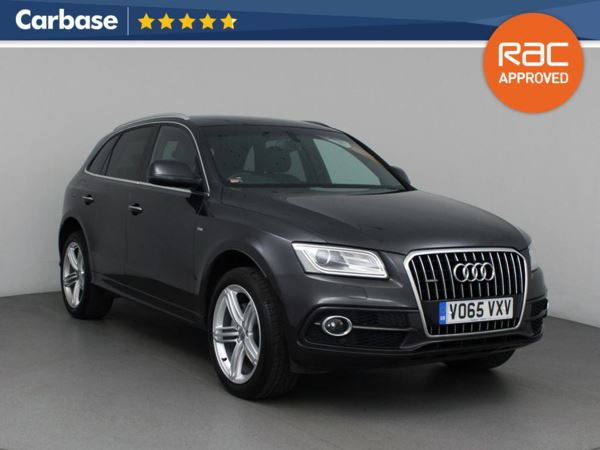 (2015) Audi Q5 2.0 TDI [190] Quattro S Line Plus 5dr - SUV 5 Seats Satellite Navigation - Luxurious Leather - Bluetooth Connection - Parking Sensors - DAB Radio