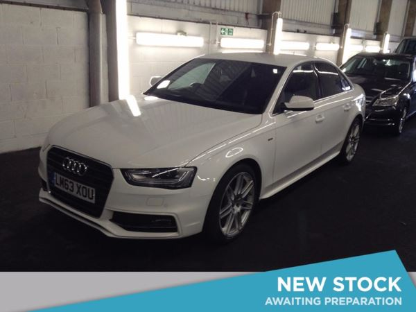(2013) Audi A4 2.0 TDI 177 S Line 4dr £1855 Of Extras - Luxurious Leather - Bluetooth Connection - £30 Tax