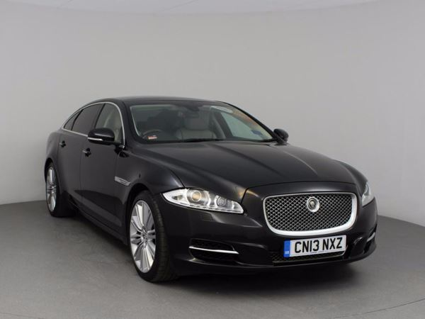 (2013) Jaguar XJ 3.0d V6 Portfolio 4dr Long Wheelbase 8-Speed Automatic With Paddleshift Panoramic Roof - Satellite Navigation - Bluetooth Connection - Parking Sensors