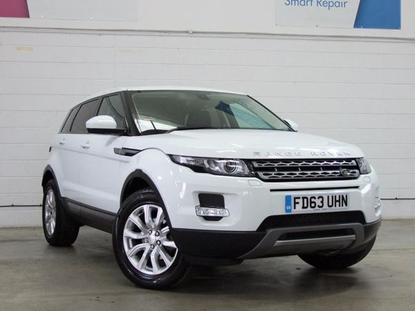(2014) Land Rover Range Rover Evoque 2.2 eD4 Pure 5dr [Tech Pack] 2WD - SUV 5 Seats Satellite Navigation - Luxurious Leather - Bluetooth Connection - Parking Sensors - DAB Radio