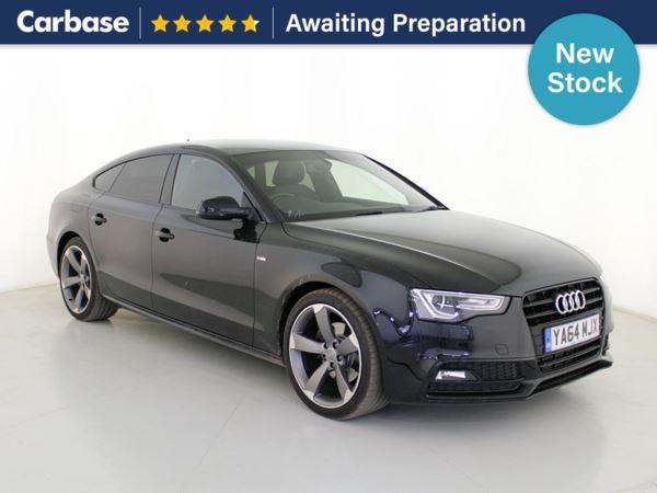 (2015) Audi A5 2.0 TDI 177 Black Edition Plus 5dr [5 Seat] Satellite Navigation - Luxurious Leather - Bluetooth Connection - Parking Sensors - Rain Sensor