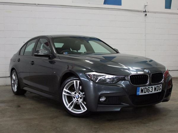 (2014) BMW 3 Series 318d M Sport 4dr £1710 Of Extras - Satellite Navigation - Luxurious Leather - Bluetooth