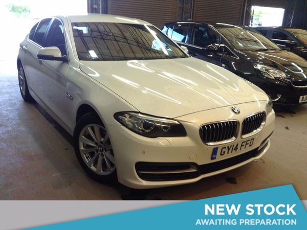 (2014) BMW 5 Series 520d SE 4dr £1275 Of Extras - Satellite Navigation - Luxurious Leather - Bluetooth Connectivity