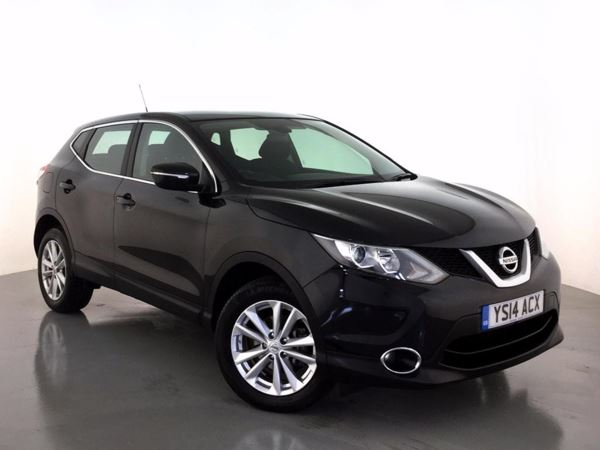 (2014) Nissan Qashqai 1.5 dCi Acenta 5dr Bluetooth Connection - Zero Tax - Rain Sensor - Cruise Control - Air Conditioning