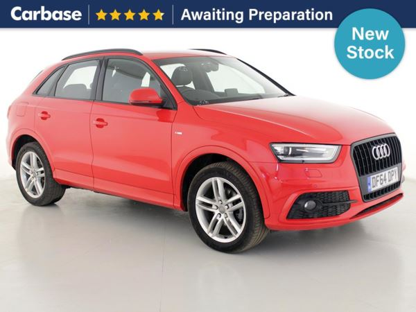 (2014) Audi Q3 2.0 TDI S Line 5dr - SUV 5 Seats Bluetooth Connection - Parking Sensors - DAB Radio - Xenon Headlights - Rain Sensor - Cruise Control