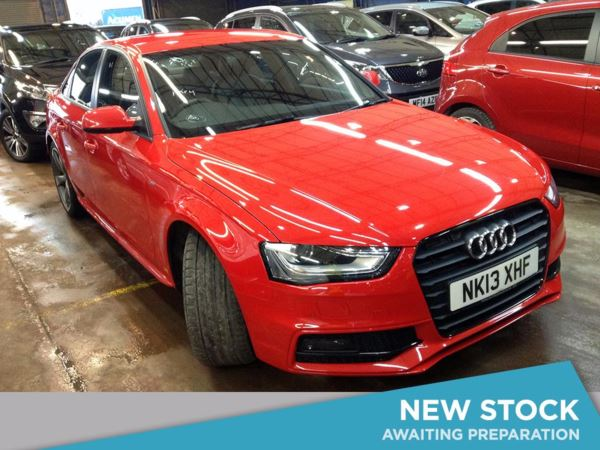 (2013) Audi A4 2.0 TDI 177 Black Edition 4dr £995 Of Extras - Luxurious Leather - Bluetooth Connection - £30 Tax