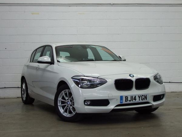 (2014) BMW 1 Series 118d SE 5dr £705 Of Extras - Bluetooth Connection - £20 Tax - Parking Sensors - DAB Radio
