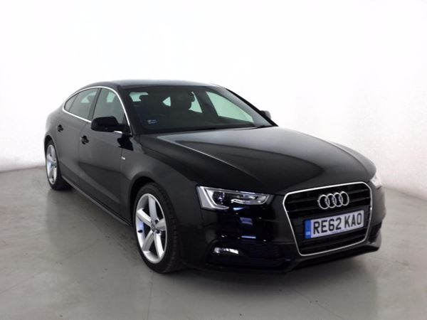 (2013) Audi A5 2.0 TDIe 136 S Line 5dr £1615 Of Extras - Luxurious Leather - Bluetooth Connection - £30 Tax