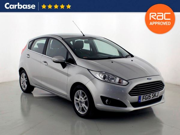 (2015) Ford Fiesta 1.0 EcoBoost Zetec 5dr Aux MP3 Input - 1 Owner - Air Conditioning - Engine Start Stop - Hill Hold Assist - Climate Control