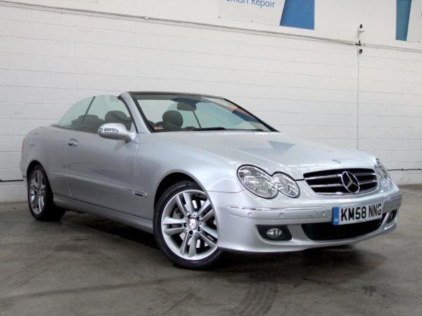 (2008) Mercedes-Benz CLK 350 Avantgarde 2dr Tip Auto £5425 Of Extras - Satellite Navigation - Luxurious Leather - Parking Sensors