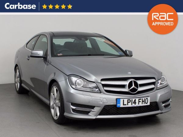(2014) Mercedes-Benz C Class C250 CDI AMG Sport Edition 2dr Auto [Premium Plus] £2325 Of Extras - Panoramic Roof - Bluetooth Connection - Parking Sensors