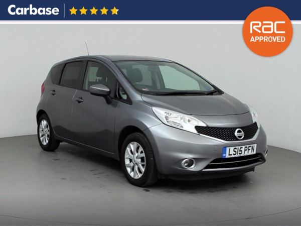 (2015) Nissan Note 1.2 Acenta 5dr [Style Pack] - Mini MPV 5 Seats Bluetooth Connection - £20 Tax - USB Connection - Cruise Control