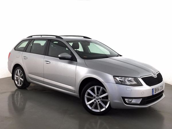 (2014) Skoda Octavia 2.0 TDI CR Elegance 5dr £955 Of Extras - Satellite Navigation - Bluetooth Connection - £20 Tax