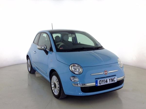 (2014) Fiat 500 1.2 Lounge 3dr [Start Stop] £925 Of Extras - Panoramic Roof - Bluetooth Connection - £30 Tax