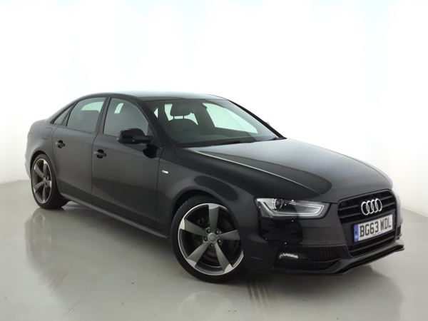 (2013) Audi A4 1.8T FSI Black Edition 4dr Luxurious Leather - Bluetooth Connection - Parking Sensors - DAB Radio - Xenon
