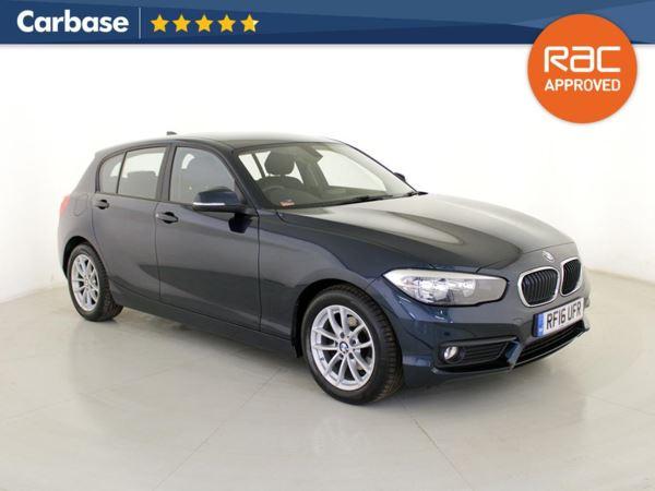 (2016) BMW 1 Series 116d EfficientDynamics Plus 5dr £550 Of Extras - Satellite Navigation - Bluetooth Connection - Parking Sensors - DAB Radio
