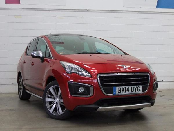 (2014) Peugeot 3008 2.0 HDi Allure 5dr - MPV 5 Seats Panoramic Roof - Satellite Navigation - Bluetooth Connection - Aux MP3 Input