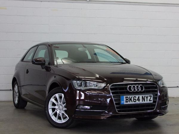 (2014) Audi A3 2.0 TDI SE 3dr Bluetooth Connection - £20 Tax - DAB Radio - Air Conditioning - Alloys