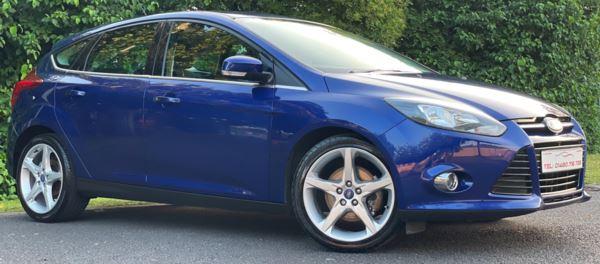 2013 (63) Ford Focus 2.0 TDCi Titanium Navigator 5dr Powershift For Sale In Huntingdon, Cambridgeshire