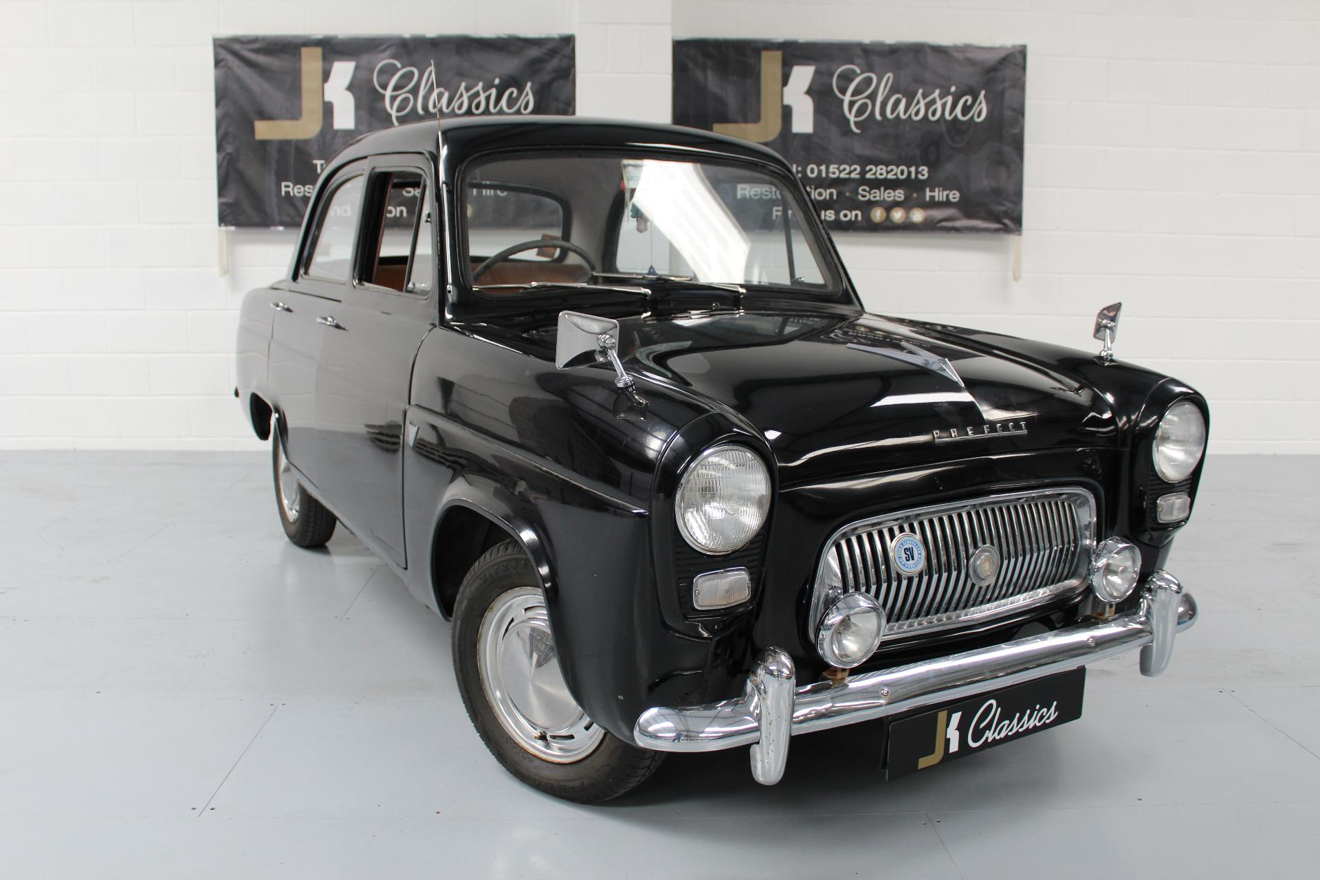 1959 ford prefect 100e classic in black for sale in lincoln lincolnshire