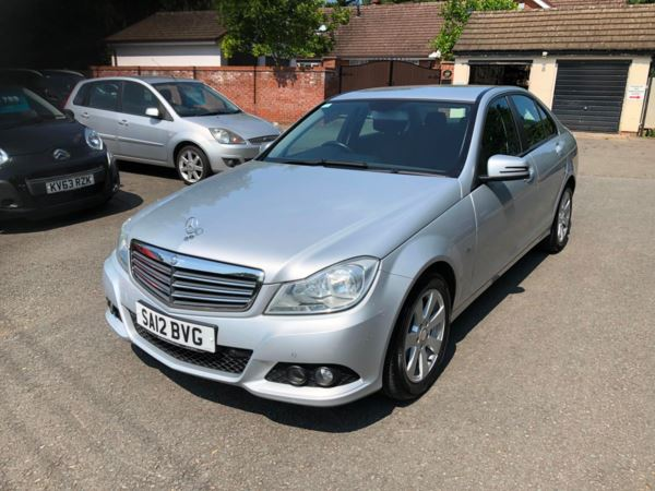 2012 (12) Mercedes-Benz C Class C220 CDI BlueEFFICIENCY SE 4dr AUTOMATIC For Sale In Stratford-upon-Avon, Warwickshire