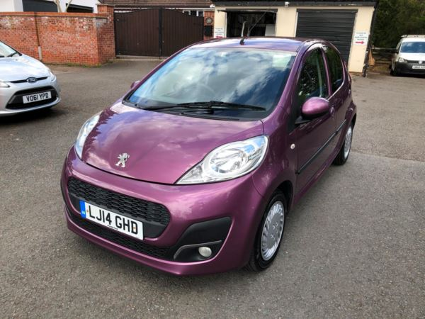 2014 (14) Peugeot 107 1.0 Active 5dr ZERO ROAD TAX LOW INSURANCE For Sale In Stratford-upon-Avon, Warwickshire