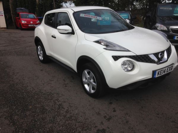 2014 (14) Nissan Juke 1.5 dCi Visia...£20 ROAD TAX For Sale In Stratford-upon-Avon, Warwickshire