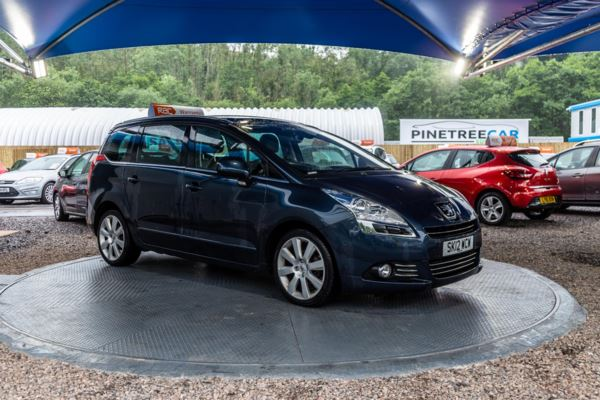 (2012) Peugeot 5008 1.6 e-HDi 112 Allure 5dr EGC