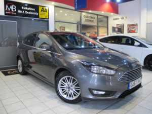 2017 67 Ford Focus 1.0 EcoBoost Zetec Edition 5dr *SAT NAV* ++14 DAY MONEY BACK++ 5 Doors HATCHBACK