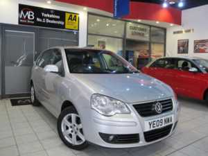 2009 09 Volkswagen Polo 1.2 Match 60 5dr *AIR CONDITIONING* ++14 DAY MONEY BACK++ 5 Doors HATCHBACK