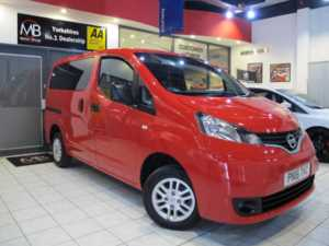 2016 16 Nissan NV200 1.5 dci 90 Acenta 5dr [7 Seat] R*EVERSING CAMERA* ++14 DAY MONEY BACK++ 5 Doors MPV