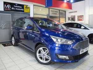 2018 67 Ford Grand C-Max 1.0 EcoBoost 125 Titanium X 5dr *SAT NAV**PAN ROOF*++14 DAY MONEY BACK++ 5 Doors MPV
