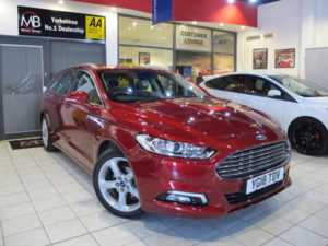 2018 18 Ford Mondeo 2.0 TDCi 180 Titanium 5dr Powershift **SAT NAV** ++14 DAY MONEY BACK++ 5 Doors ESTATE